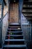 這樓梯曾經有一張有名的黑白照片不知道有沒有人看過阿?